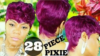 EDGY CUT WITH BOLD COLOR | COLLAB WITH BRAINY BAJAN BEAUTY