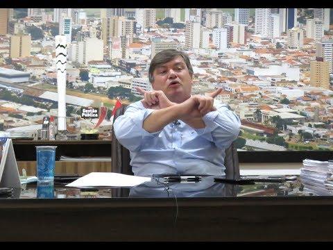AME: em coletiva, prefeito apresenta contraproposta para instalação