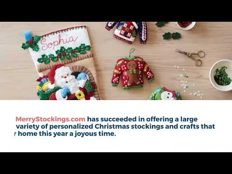 Your Number One Source for Customized Christmas Stockings | Merry Stockings