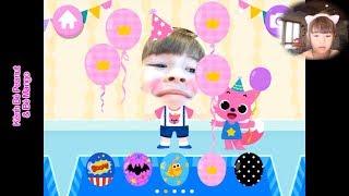 Bé Peanut Chơi Game Trang Điểm Cho Thú | Let's Play | Miss Hollywood | PinkFong Happy Birthday