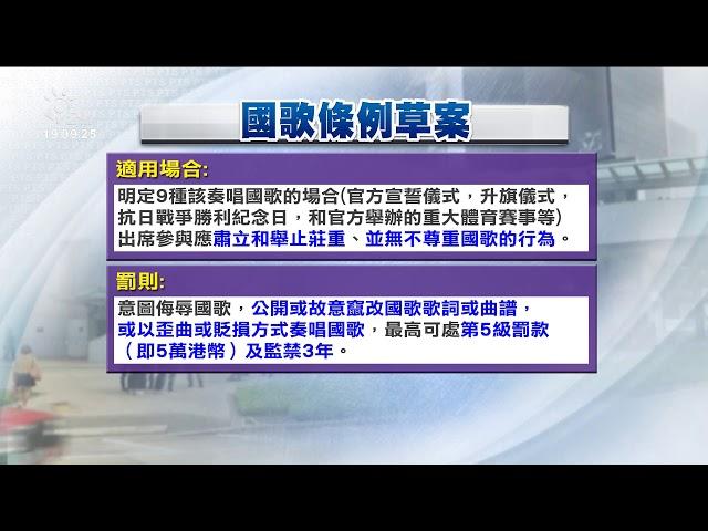 反國安法、國歌法 港人「大三罷」包圍立法會