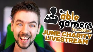Jacksepticeye's June Charity Livestream - Ablegamers