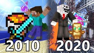 2b2t's History of Minecraft Combat (2010-2020)
