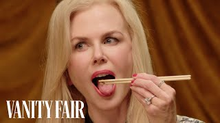 Nicole Kidman Eats Bugs | Secret Talent Theatre | Vanity Fair