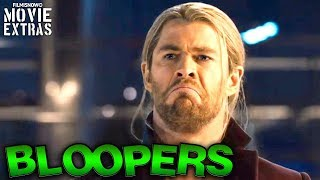 Chris Hemsworth | Hilarious Funny Bloopers & Outtakes from The Norse God