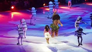 "Moana & Maui ""You're welcome""  (disney on ice)"