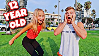 TEACHING LILLY K HOW TO BACKFLIP! *CRAZY*