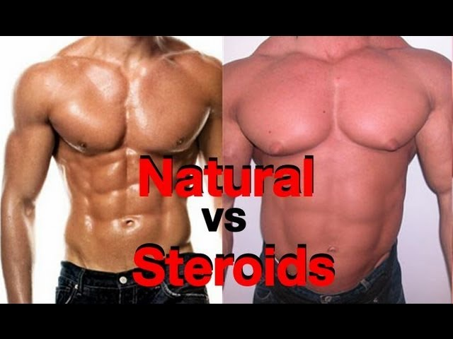 natural bodybuilders vs steroid users Quotes