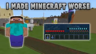 Why If Given The Choice, I'd Make Minecraft WORSE