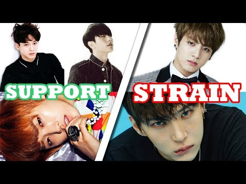 Strain VS Support | K-Pop Male Vocalists (F4 - C5)