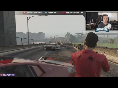 The 'Dominator' Police Chase - Grand Theft Auto 5