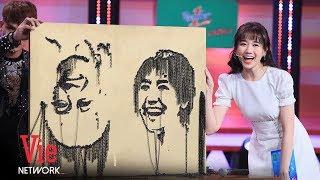 Hari Won Hạnh Phúc Vì Có Big Fan Vẽ Hình Mình Bằng Con Ốc   Hài Mới 2019 [Full HD]