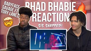 BHAD BHABIE CAN RAP !? BABYFACE SAVAGE BY BHAD BHABIE FT. TORY LANEZ *Reaction*