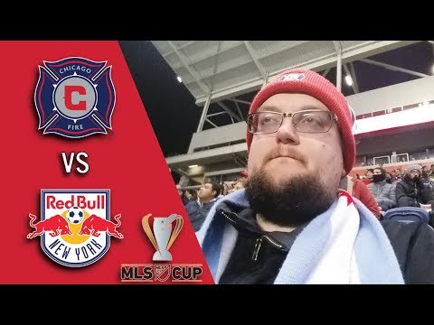 CHICAGO FIRE VS. NEW YORK - 2017 MLS PLAYOFF MATCHDAY VLOG