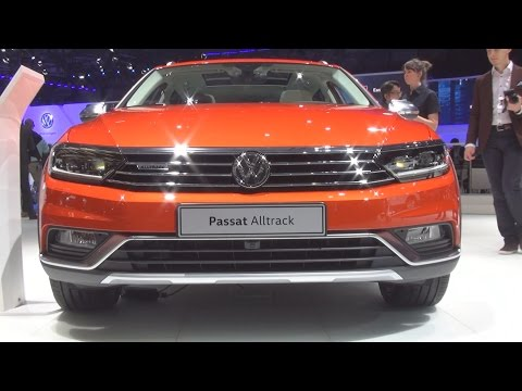 Volkswagen Passat Alltrack 4MOTION 2.0 TDI SCR 190 DSG (2016) Exterior and Interior in 3D