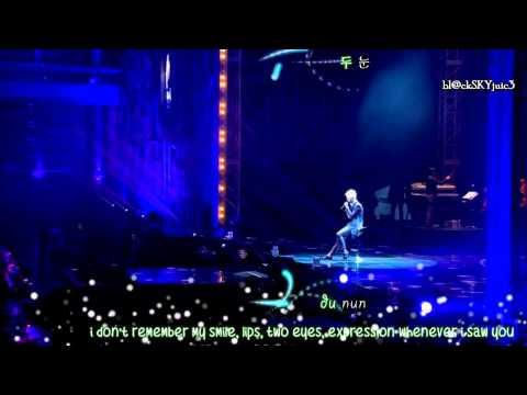 Xia Junsu - l Don't Like Love LIVE (hangul / rom / eng sub)