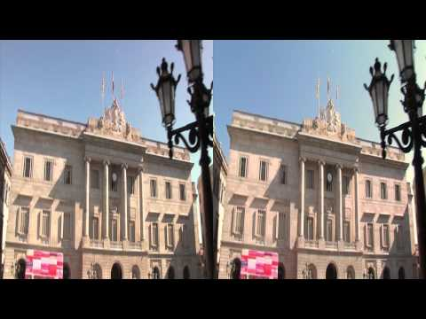 3net World Cities Barcelona Clip 1 3D Video
