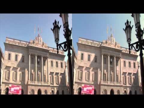 3net World Cities Barcelona Clip 1 3D Video