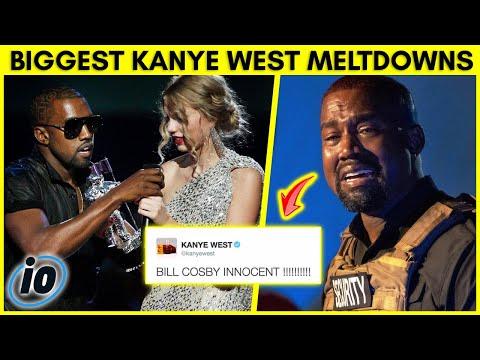 10-те најголеми испади во јавност на Канје Вест