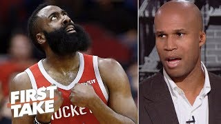 James Harden is 'not even close' to being MVP - Richard Jefferson | First Take