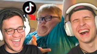 the boys react to tiktoks