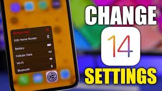 15 Settings You Should Change on iOS 14 !