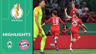 Bayern wins 5-Goal-Thriller | Werder Bremen vs. Bayern München 2-3 | Highlights | DFB Cup 2018/19