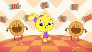 I Love Waffles! Silly cooking song, funny songs for kids, preschoolers from PlayKids!