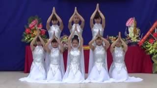 Múa Đất nước lời ru (chào mừng 20-11-2016, tập thể lớp 11A1-THPT Mỹ Tho-Ý Yên-Nam Định)