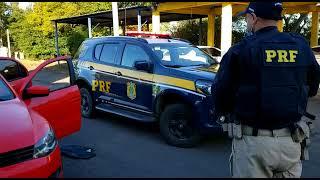 Após intensa perseguição, PRF prende traficante na BR-290, em Eldorado do Sul