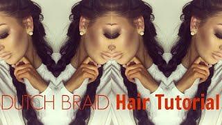 Dutch Braid HAIR TUTORIAL MIT CLIP IN EXTENSIONS von Cheeky Chica - deutsch