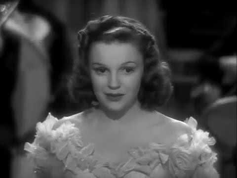 "Judy Garland  ☼  Singing In The Rain ""Little Nellie Kelly, 1940"""