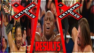 WWE EXTREME RULES 2018 FULL SHOW RESULTS (WWE EXTREME RULES 2018 RESULTS)