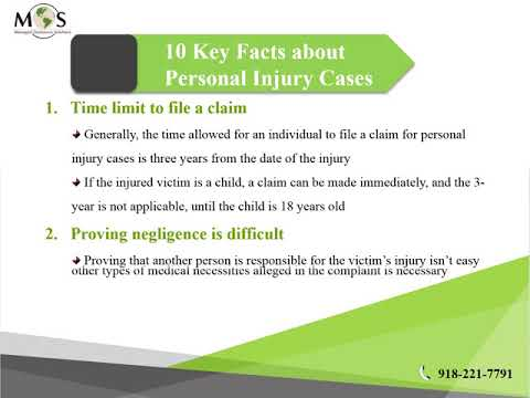 Get to Know These 10 Facts about Personal Injury Lawsuits