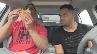 Eating McDonald's New Juicy Quarter Pounder @hodgetwins