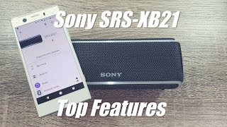 Sony SRS XB21 Bluetooth Speaker Top Features - How to change light effects?