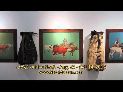 Art on the Hoof Member Roundup 1 - Nave Museum - Victoria, Texas