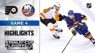 NHL Highlights | Second Round, Gm4 Flyers @ Islanders - Aug. 30, 2020