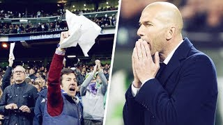 Why are Real Madrid fans starting to hate Zidane?   Oh My Goal