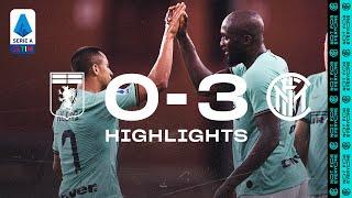 GENOA 0-3 INTER   HIGHLIGHTS   Lukaku and Alexis keep Genoa aside! 👊🏻⚫🔵