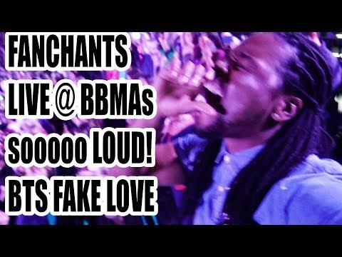 LOUDEST FANCHANTS | BTS FAKE LOVE | LIVE HD FANCAM REACTION!!! | I WAS THERE!!! BBMAs 2018!
