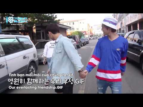[Eng+Vietsub] BTOB - Who Are You School 2015 Supporting Sungjae at filming set