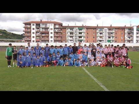 Athletic nagusi V. Urtzi Gurrutxagaren Oroimenezkoan. Tolosa C.F. laugarren