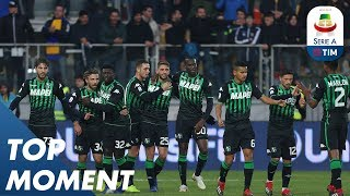 Berardi Great Goal on Target | Frosinone 0-2 Sassuolo | Top Moment | Serie A
