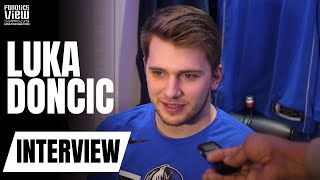 Luka Doncic on LeBron James Running Into Him, Winning Rookie of the Month & Playing Fortnite