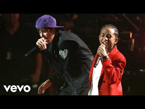 Justin Bieber - Never Say Never ft. Jaden Smith (Live)