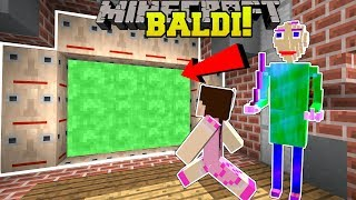 Minecraft: PORTAL TO BALDI'S DIMENSION!!! - Custom Map