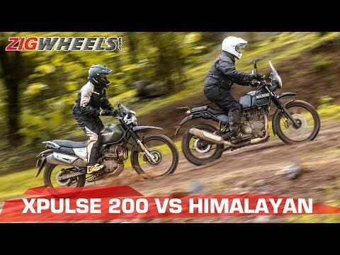 Hero XPulse 200 vs Royal Enfield Himalayan & Comparison Test