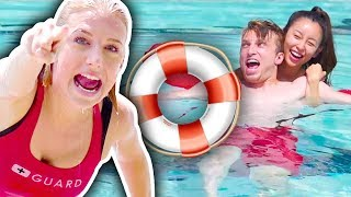 BECOMING LIFEGUARDS FOR A DAY! (Day Jobs)