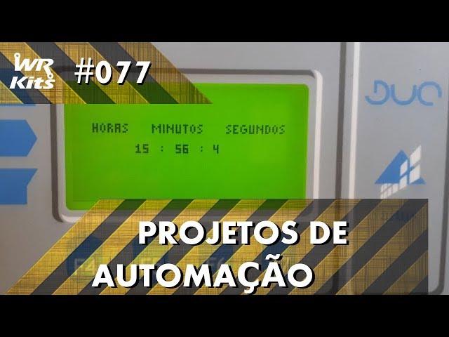 RELÓGIO DIGITAL COM CLP ALTUS DUO | Projetos de Automação #077